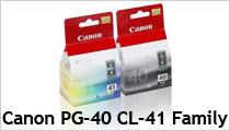Canon PG-40 CL-41 Family