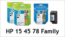 HP 15 45 78 Family