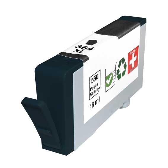 Cartouche rechargée HP 364XL / Noir / Rechargé SCV