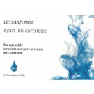 Cartouche compatible Brother LC-1240/1280 / Cyan