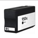 Cartouche rechargée HP 950XL / Noir / Rechargé / AVEC niveau d'encre affiché.