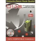 Cartouche compatible Canon BCI-21 / Noir 9,5 ml