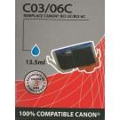 Cartouche compatible Canon BCI-3e / Cyan 15 ml