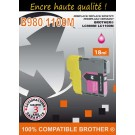 Cartouche compatible Brother LC-1100 / Magenta 18 ml