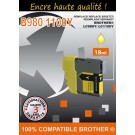 Cartouche compatible Brother LC-980 / Jaune 18 ml