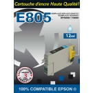 Cartouche compatible Epson T0805 / Photo Cyan 12 ml