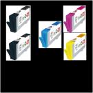 Pack 5 cartouches rechargées HP 364